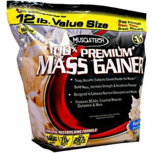 MuscleTech gainer premium mass