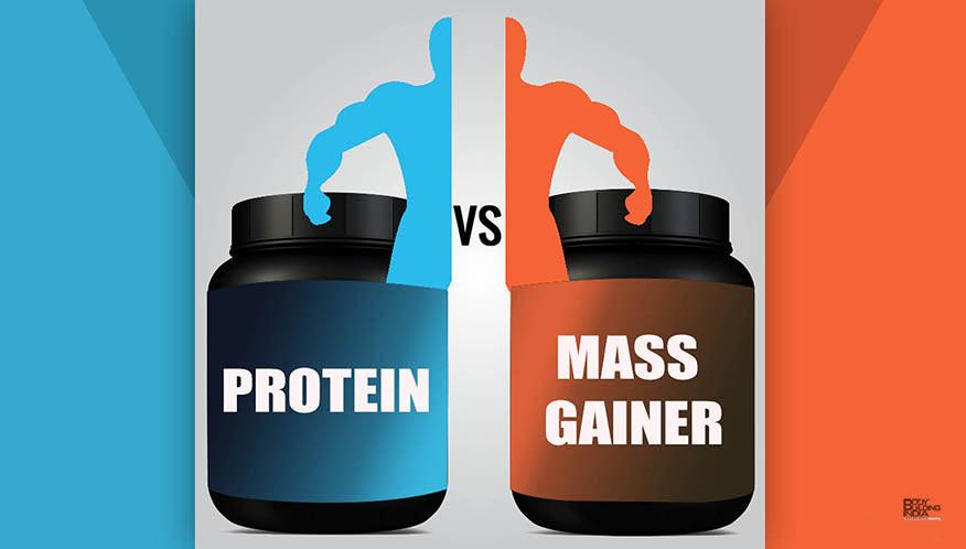 Gainer vs Proteín
