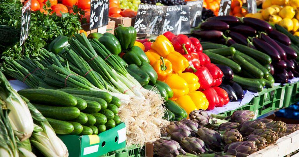 zelenina s vysokým obsahom bielkovín